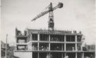 Ashgrove Court in Aberdeen is pictured under construction before it opened 60 years ago.