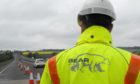 The works on the A96, east of Inverness, begin at 7.30pm tomorrow