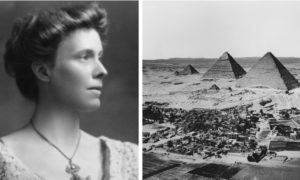 Nora Griffith made the journey from Aberdeenshire to the pyramids of Egypt.
