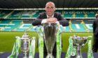 Celtic's Scott Brown has won a quadruple treble, as well as plenty more trophies, during his time at Parkhead.