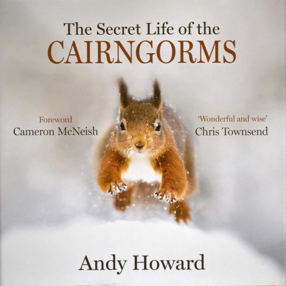 First place: The Secret Life of the Cairngorms by Andy Howard