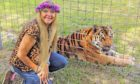 Tiger King star Carole Baskin will speak to media students in Aberdeen about her experiences