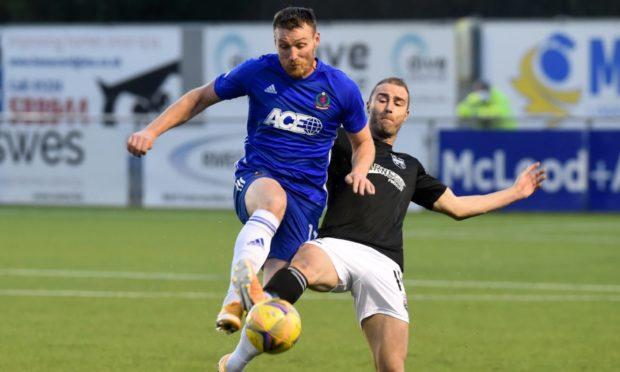 Cove Rangers striker Rory McAllister.