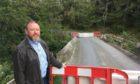 David Duguid MP near King Edward.