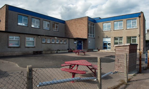 Portsoy School, where the nursery is located. Picture by Jason Hedges