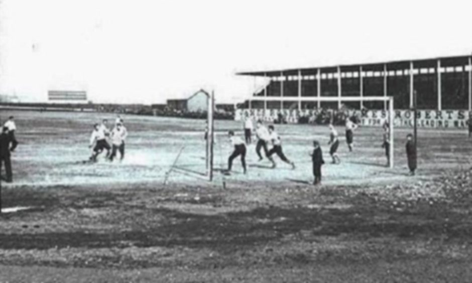 The Scotland against Wales match took place at Carolina Port back in 1896.
