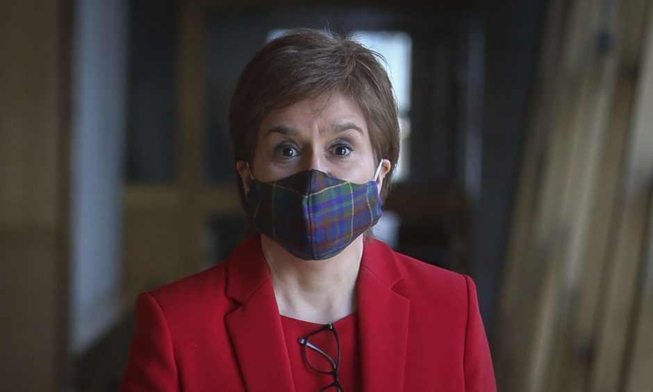 Nicola Sturgeon breach