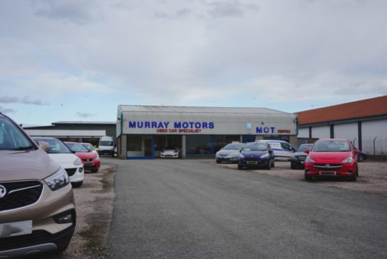 Murray Motors were about 12 cars have been vandalised.