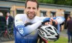 Cyclist Mark Beaumont is fronting a new police campaign to tackle bike theft. Picture by Kim Cessford