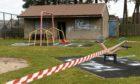 A playpark in Port Elphinstone, Inverurie has been vandalised.