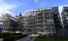 """Scaffolding around Provost Skene's House in Aberdeen will be removed in the """"coming weeks"""""""