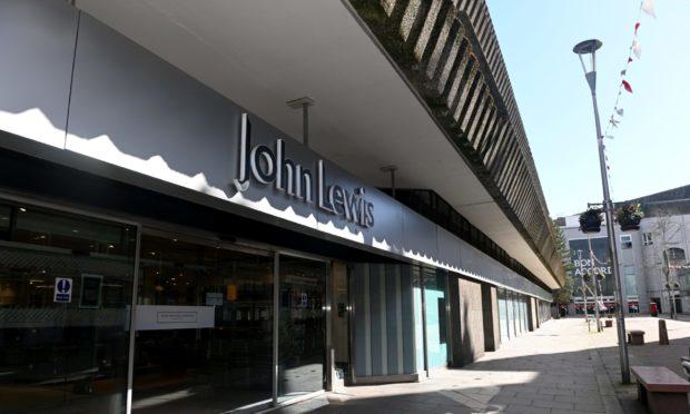John Lewis, Aberdeen, has announced it is closing.