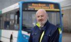 Stagecoach driver Malcolm Underwood.