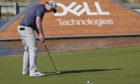 Robert MacIntyre of Scotland on the 13th hole during his second round match against Dustin Johnson at the Dell Technologies Match Play Championship.