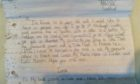 Emma Watt's message in a bottle from 1994 was found after 27 years at sea.