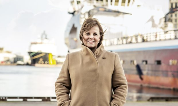 Michelle Handforth, outgoing chief executive of Aberdeen Harbour Board