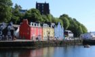 Mr Dyer's body was discovered this morning at Rockburn, Tobermory.