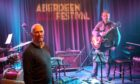 Neil Gibbons and Graeme Stephen.  Supplied by Aberdeen Jazz Festival Date; Unknown