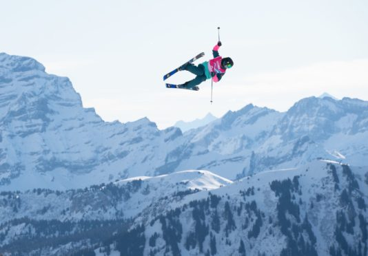 Kirsty Muir was the youngest skier in the slopestyle final.