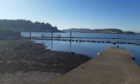 Oban pontoons were just one of the Argyll locations used by film crews last year.