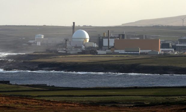 Dounreay, which is currently being decommissioned,  could become home to a pioneering new plant creating clean power. Picture Sandy McCook.