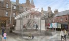 Designs showing what will be done to improve what is a key public space in the centre of Peterhead.