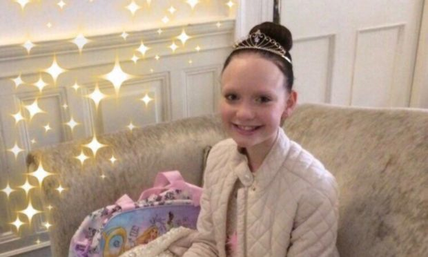 Abbie Main formed Abbie's Sparkle Foundation before her death in 2017.