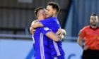 Mitch Megginson scored a late equaliser for Cove Rangers.