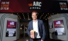 Film director Jon S Baird at the opening of the The Arc Cinema, Peterhead. The cinema will return on May 17, with upcoming films including Peter Rabbit 2: The Runaway and Disney's Cruella. Picture by Darrell Benns.