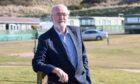 Colin Fraser, manager of Strathlene Caravan Park near Buckie.
