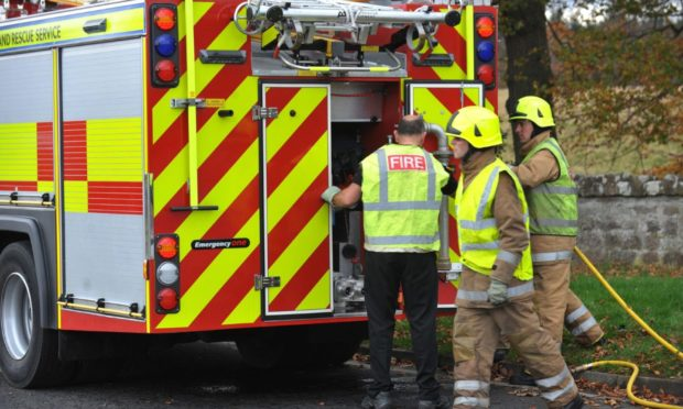 .  Photographed by David Whittaker-Smith.       .12/11/14            fire engine, fire service, emergency, car crash, collision, RTC.