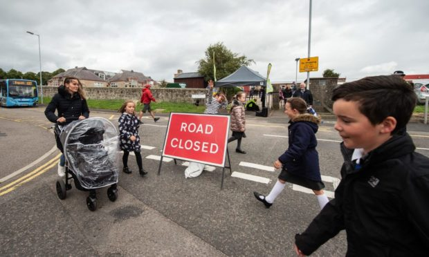 The street closures have already been trialed at New Elgin Primary School in May 2019.