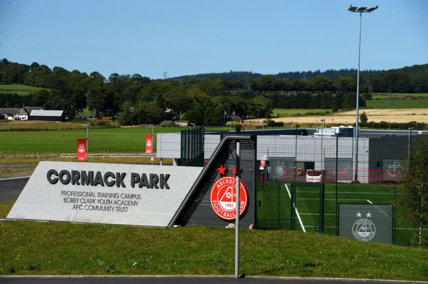 Aberdeen FC opened the new training ground at Kingsford in 2019.