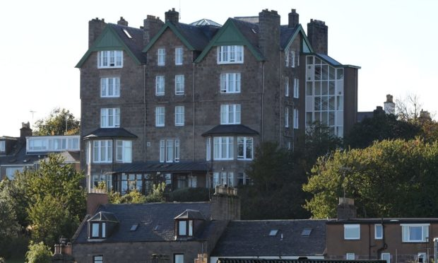 Clashfarquhar House on Robert Street, Stonehaven, has been criticised by the Care Inspectorate.