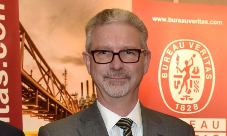 Paul Shrieve, the president of Bureau Veritas Solutions for marine and offshore