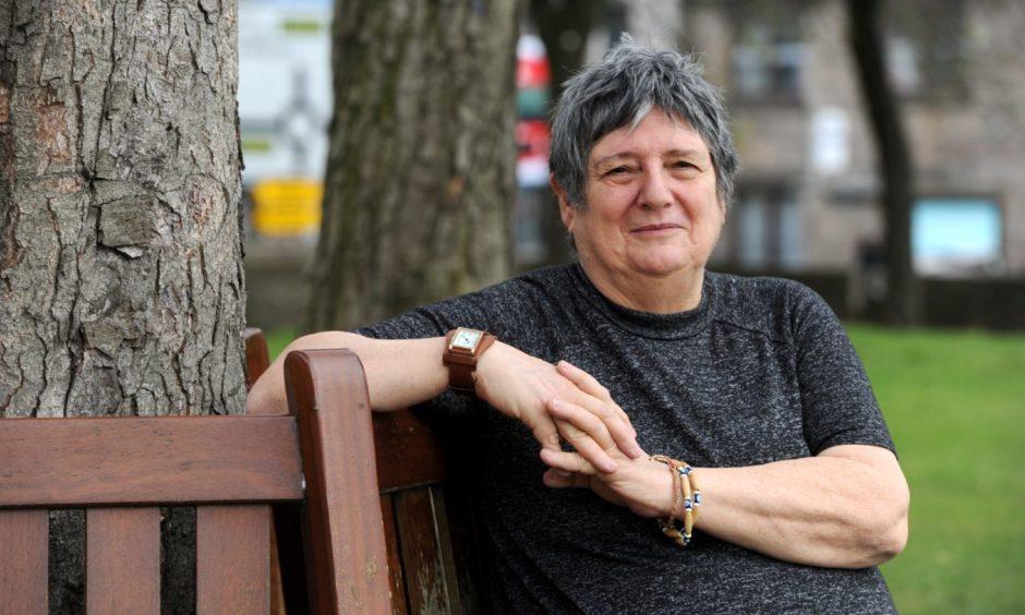 Sheena Blackhall has written a book about her life.