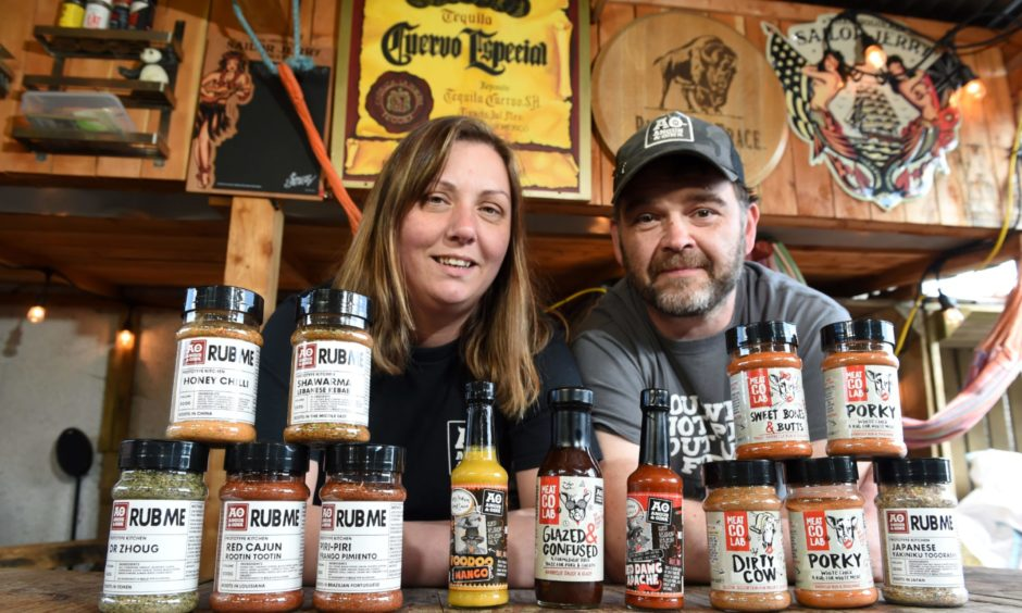 Malissa and Scott Fraser of Angus and Oink.