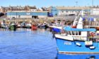 Fishing boats at Peterhead Harbour.