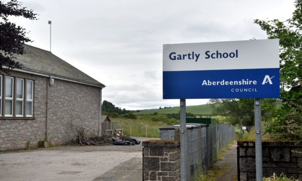 Aberdeenshire Council wants the local community to contribute to a survey which will help decide the future of Gartly School, which closed in December 2018 after an oil leak.