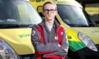 Calum Leitch is an ambulance support volunteer with the British Red Cross.