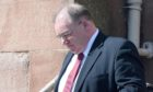 Bus driver Nigel Dunn at Inverness Sheriff Court