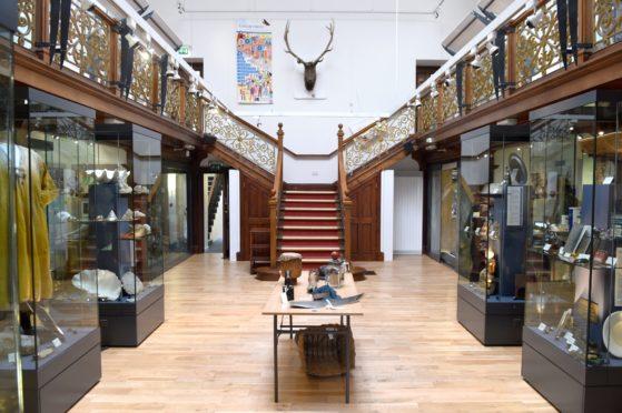 Falconer Museum in Forres.
