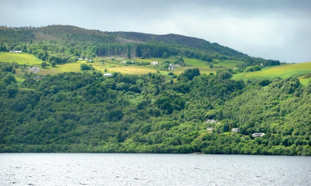 Abriachan in the hills above Loch Ness.