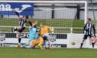 Elgin City suffered defeat on their return to League Two action.