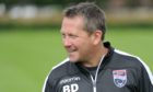 Billy Dodds during his time as Ross County assistant manager