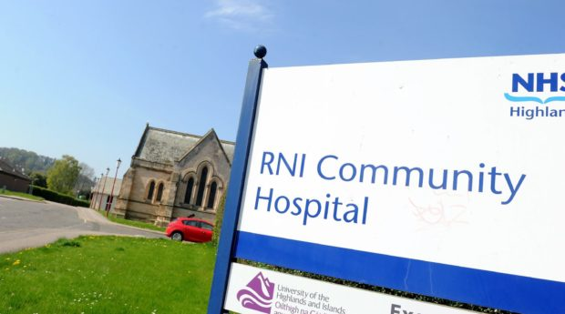 Community hospitals are currently being used for longer-term recuperation as acute services are full