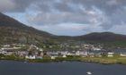 Castlebay on Barra in the Western Isles.