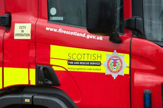 Firefighters were called out at around 2.20pm.