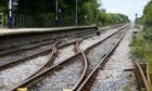 Children have been seen playing on the tracks in several places around Aberdeenshire. Picture by Lynne Cameron/PA Wire