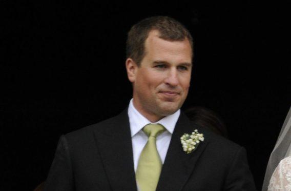 Peter Phillips, the eldest grandson of Queen Elizabeth II